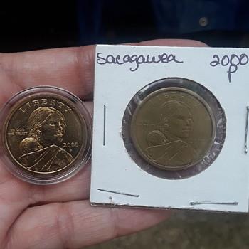 Sacagawea experimental rinse error? - US Coins