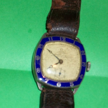 Omega Swiss made gents Watch 1929 Silver Hallmarked