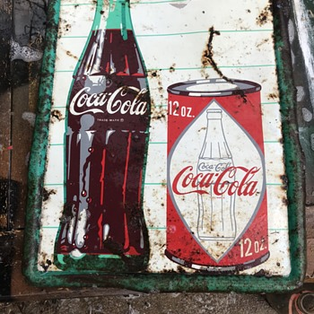 Uncommon Coca Cola Sign - Coca-Cola