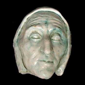 """Circa 1900s Arthur Craco """"Dante"""" Mask"""