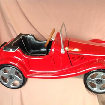 MG TF 1954 pedal car - Toys