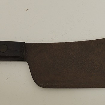 7 Inch Cleaver - Wooden Handle and Iron Blade - Kitchen