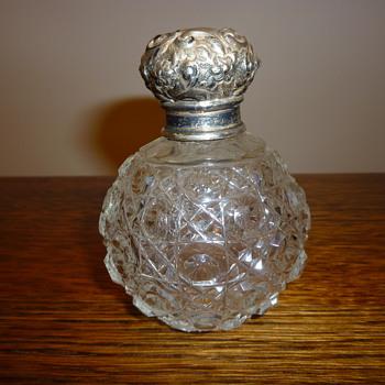 Antique (Victorian?) scent bottle.