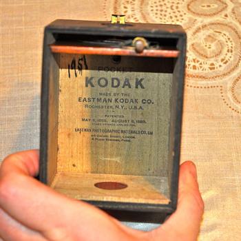 Eastman Kodak Camera 1186 1889 - Cameras