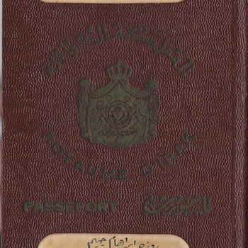 1934-39 Royal Iraqi passport