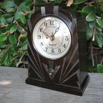 Art Deco Bakelite Skyscraper Havlin Clock