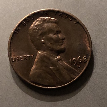 1968 s Lincoln cent  - US Coins