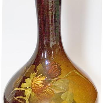 J.B.Owen Utopian vase - Pottery