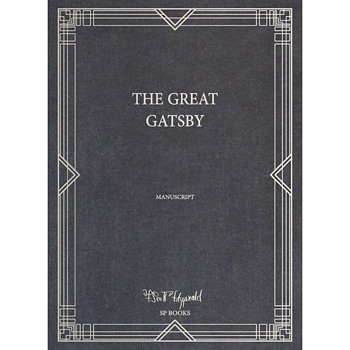 F. Scott Fitzgerald's Manuscript (facsimile) of the Great Gatsby Number 641 of 1800 - Books