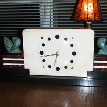 Some of my Art Deco clocks - Clocks