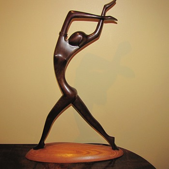 Rare Art Deco Hagenauer Dancer - Art Deco