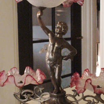 Epergne or could be called Statue Epergne.