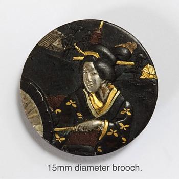 Japanese Brooch
