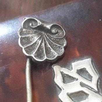 Vintage Owl stick pin - Costume Jewelry