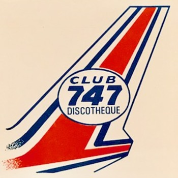 Club 747 Discotheque poster. - Posters and Prints