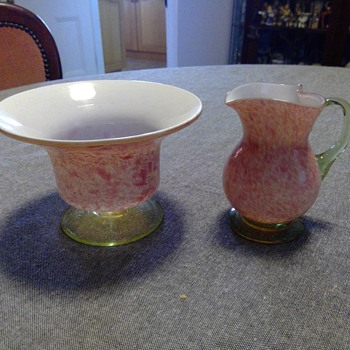 Victorian Sugar and Creamer - Victorian Era