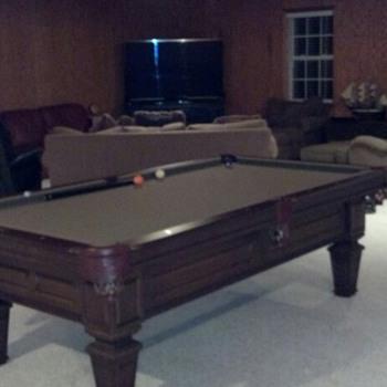 Pool table - Games