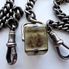 Photo Cube Pocket Watch Fob