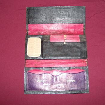 money pouch has 1873 calander - Accessories