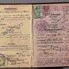 1939 British Palestine passport from Prague