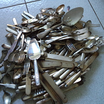 Lots of Silver Plate Flatware