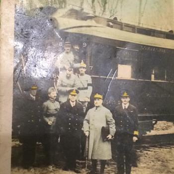 WWI Armistice Nov. 11, 1918 postcard - Military and Wartime