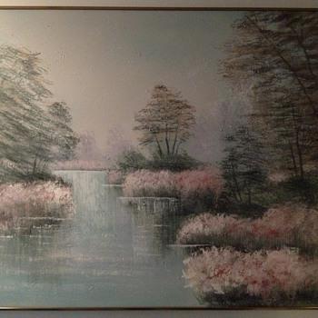 Original Lee Renalds painting estimated price?  - Fine Art