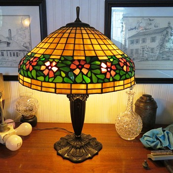 Mosaic Glass Shade by Handel? - Lamps