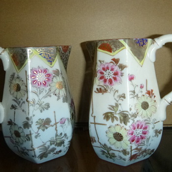 Antique pitchers - Asian