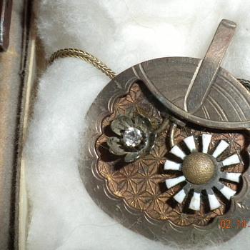Diamond brooch - Fine Jewelry