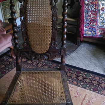French Renaissance chair - Furniture