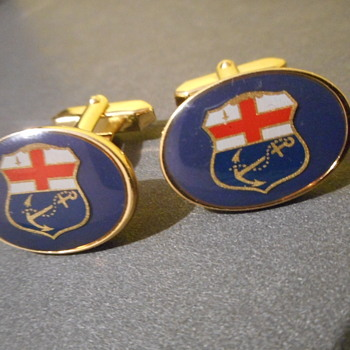 Unknown navy Cufflinks - Military and Wartime