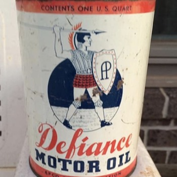 Another Rare oil can for the day - Petroliana