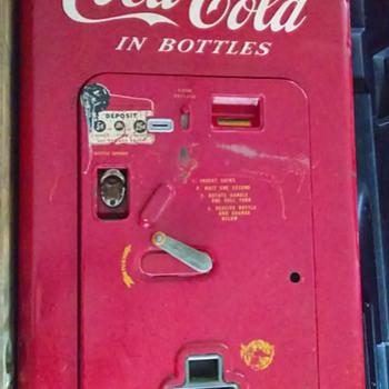 6¢ Coca-Cola machine - Coca-Cola