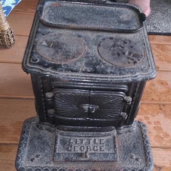 Little Georgemini wood stove - Kitchen