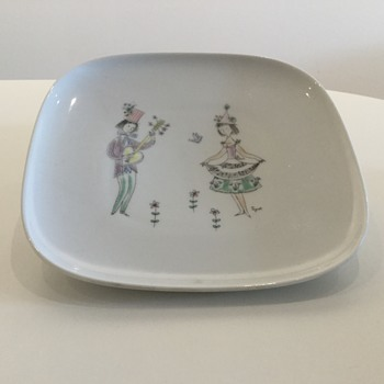 ROSENTHAL - R. PEYNET - THE LOVERS - China and Dinnerware