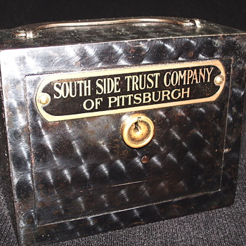 "Promotional Advertizing Steel Bank""South Side Trust Company of Pittsburgh""Circa-1900"