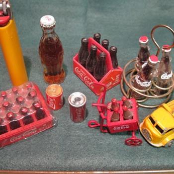 Lots of little Coca Cola bottles - Coca-Cola