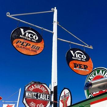 Vico Oil - Pep 88 Gas - Signs