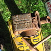 Old 20 Ton Railroad Duff Norton Jack & Railroad Spike Sledge Hammer