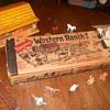 Marx Western Ranch Set Playset Box
