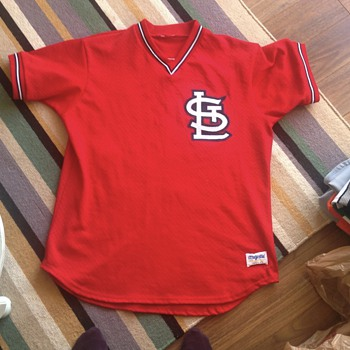 Vtg Vince Coleman Cardinals Majestic Jersey Sewn Authentic??