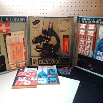 Porter Microcraft Microscope Set - Tools and Hardware