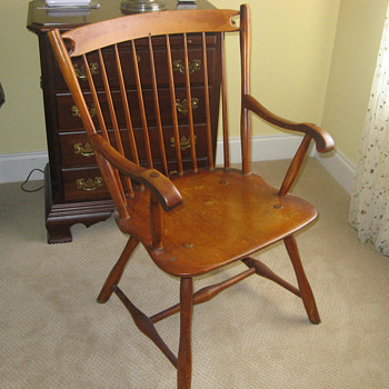 Early Maple Windsor Chair