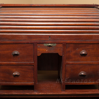 Folk art? Salesman Sample? Mini Roll-top desk - Furniture