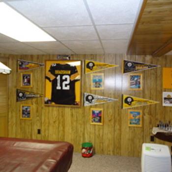 Super Bowl Programs Wall of Honor