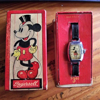 Two Collectors unite to Make a Complete Mickey Mouse Watch - Wristwatches