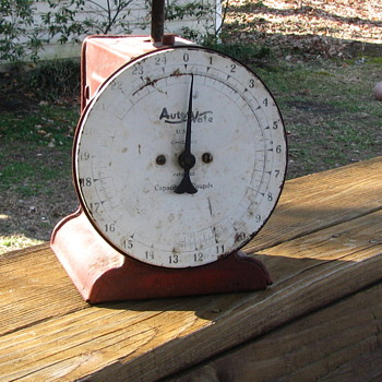 Auto wate 25 lb scale