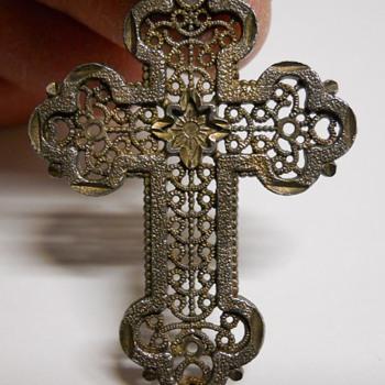 Vintage Sterling Silver Cross - Fine Jewelry