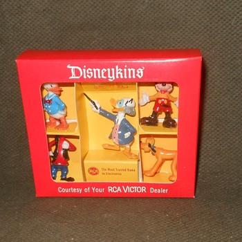 Marx Disneykin Special RCA Set Featuring Ludwig Von Drake - Advertising
